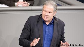 Депутат бундестага от Левой партии Андрей Хунко