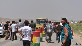 Irak Kämpfe Jeziden Flüchtlinge 05.08.2014
