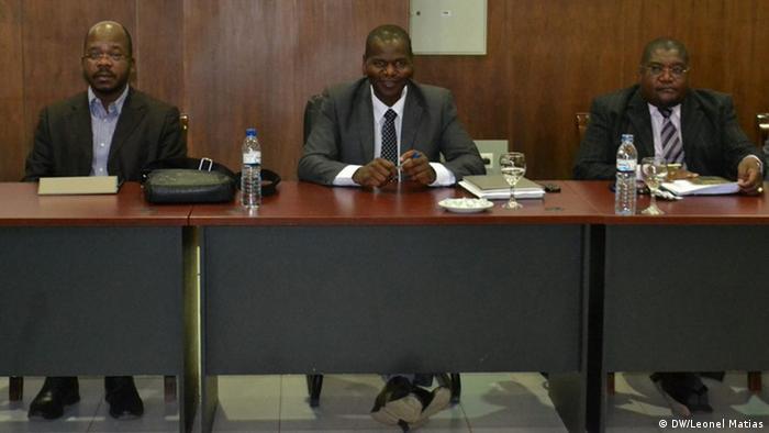 Mosambik Beobachter der Friedensverhandlungen