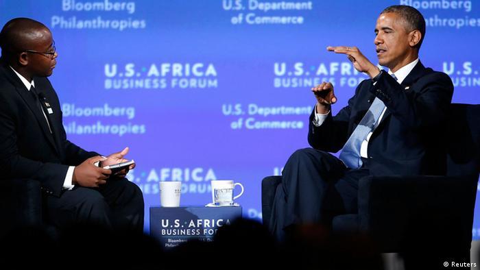 USA-Afrika-Gipfel in Washington