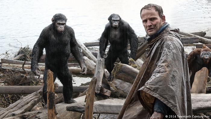 Film still from Dawn of the Planet of the Apes (2014 Twentieth Century Fox)