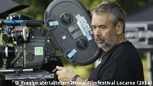 Portrait des französischen Regisseurs Luc Besson, dessen neuster Kinofilm Lucy (2014) auf der Piazza Grande in Loccarno Europa-Premiere feiert. Der Regisseur ist in Locarno anwesend. Copyright: Pressmaterial/International Filmfestival Locarno (2014)