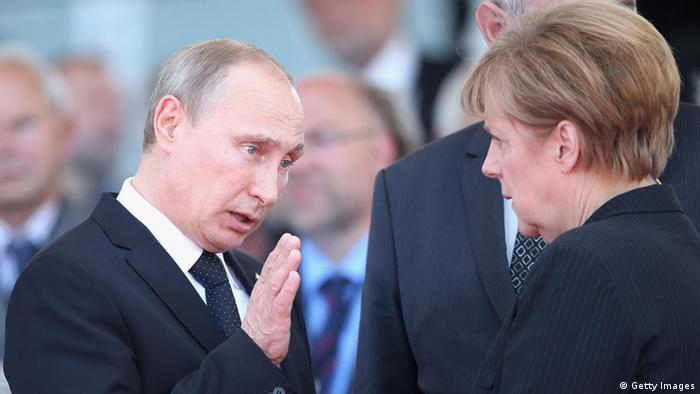 Одна из встреч Ангелы Меркель и Владимира Путина (фото из архива)