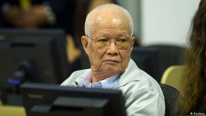 Kambodscha Khmer Rouge Urteil Khieu Samphan 7. August
