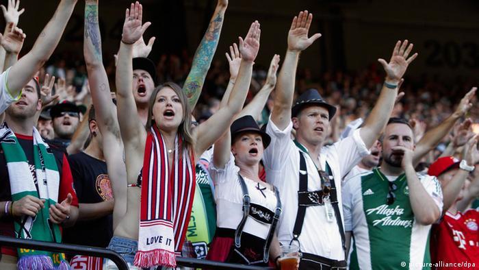 USA Tour Bayern München Fans