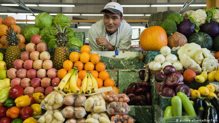 بازار میوه در مسکو