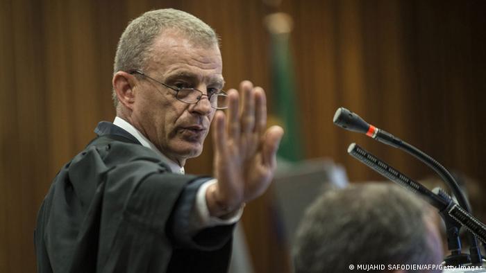 Oscar Pistorius Ankläger Gerrie Nel 7. August