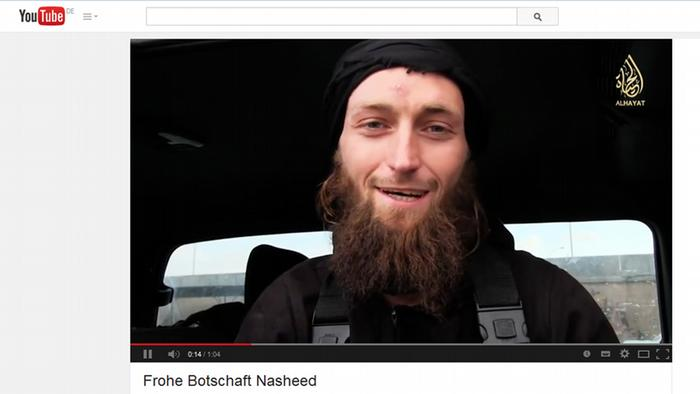 Screenshot YouTube deutsche Dschihadisten in Syrien