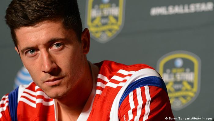 Robert Lewandowski vor dem MLS All-Star Spiel