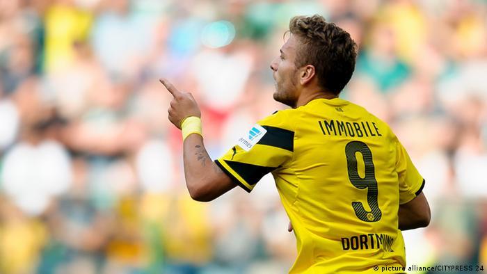 Dortmunds Immobile im Testspiel gegen Wrocloaw