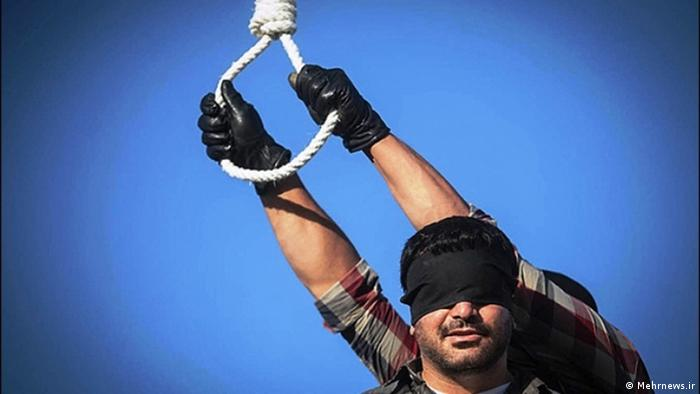 Iran-Wochengalerie KW 32 Hinrichtung (Mehrnews.ir)