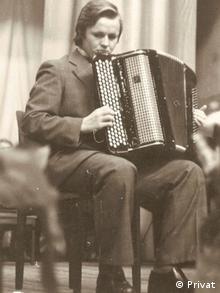 Брияк мріяв стати акордеоністом