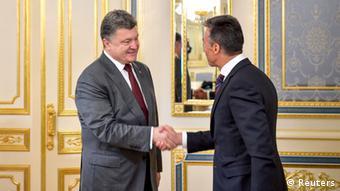 Rasmusen će se sa ukrajinskim predsjednikom Porošenkom sastati i na predstojećem samitu