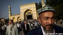 China Xinjiang Uiguren Bärte