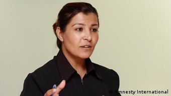 oria Mosadiq, Amnesty International's Afghanistan Researcher. Copyright: Amnesty International