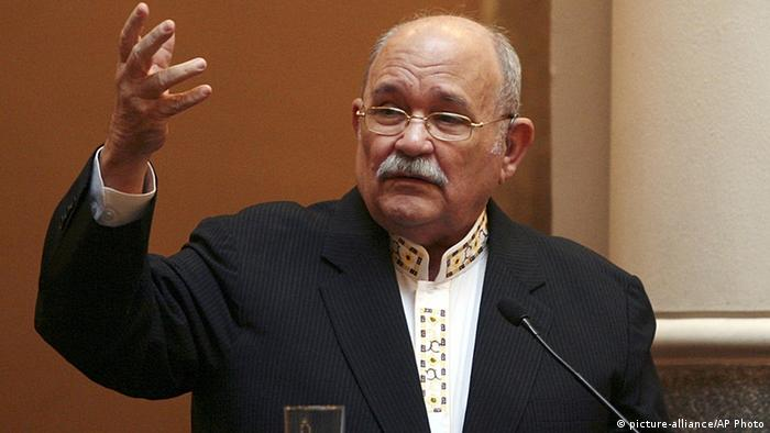 Miguel D'Escoto Brockmann ARCHIVBILD 2009 (picture-alliance/AP Photo)