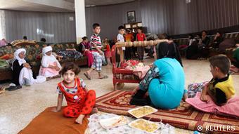 Flüchtlinge im Irak. (Foto: Reuters)
