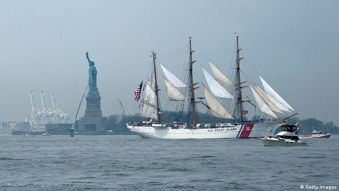 Segelschiff USCGC Eagle (Getty Images)