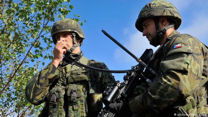 Чешские военнослужащие (фото из архива)