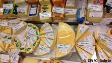Supermarkt in Moskau Thema Importstopp