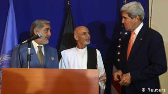 John Kerry in Kabul (Foto: Reuters)