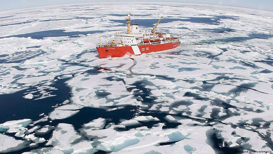 Canada sends mission to Arctic as part of North Pole bid | DW | 09.08.2014