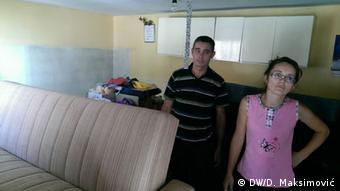 Mile Vidović i njegova supruga