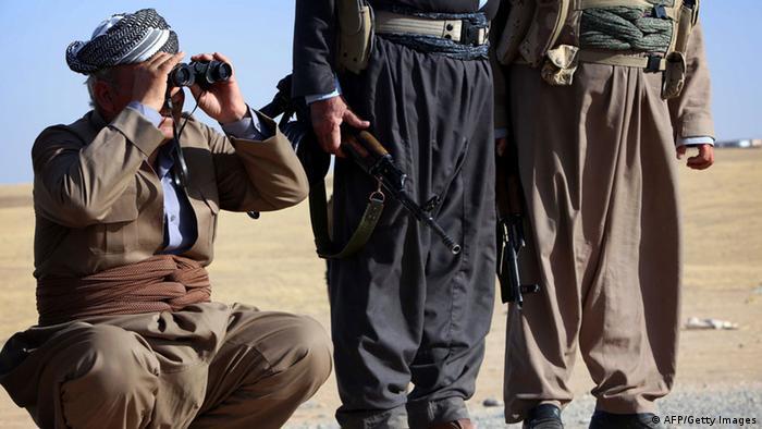 Peschmerga Kämpfer im Irak