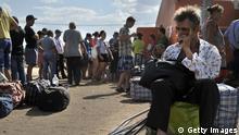 Ukraine - Flüchtlinge im Lager