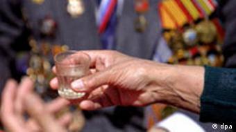 Wodka in Moskau