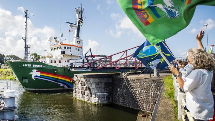 Holland - Greenpeace-Schiff Artic Sunrise