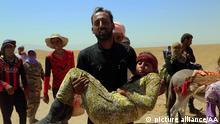 Irak Jesiden Flucht 9.8.2014