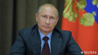 Vladimir Putin announcing a Joint US-Russian oil project in the Arctic