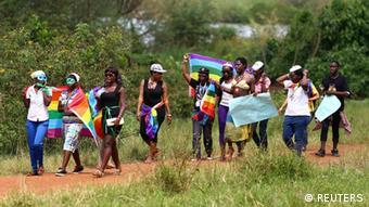 Uganda Homosexualität Parade
