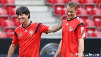 Fußball Joachim Löw und Manuel Neuer