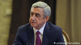 Экс-президент и премьер-министр Армении Серж Саргсян (фото из архива)
