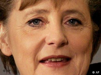 Merkel is set to become Germany's leader on Tuesday