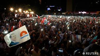 Erdoganove pristalice u Ankari