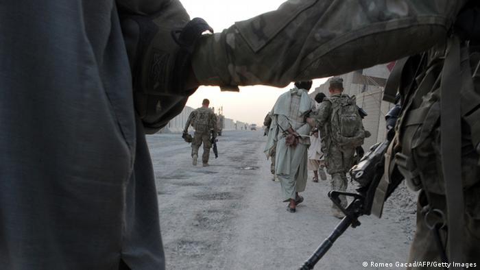 Afghanistan US Soldaten Festnahme Archiv 2011