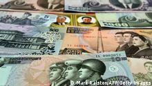 Nordkoreanische Geldscheine