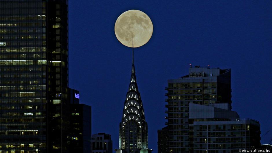 Bildergalerie Supermond USA 10.08.2014