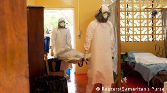 Ebola Krankenhaus Liberia