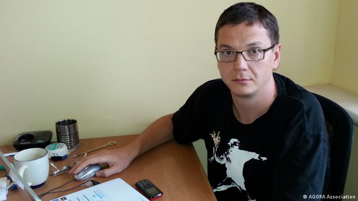 Руководитель международной правозащитной группы «Агора» Павел Чиков
