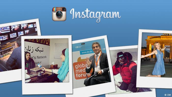 Symbolbild Instagram Kundenservice (DW)