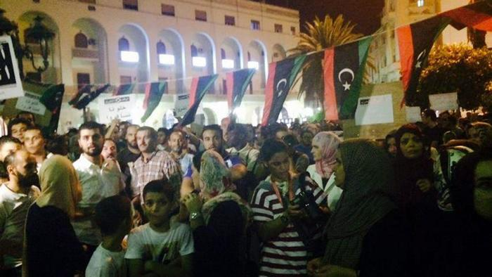 Libyen Proteste Stop the war