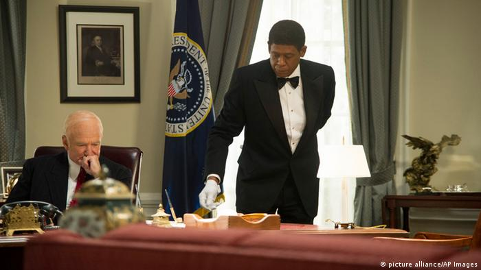 Robin Williams and Forest Whitaker in The Butler (picture alliance/AP Images)