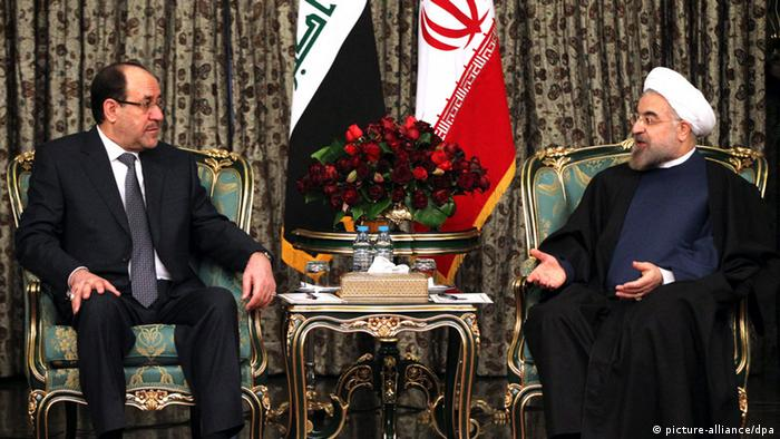 Iran Rohani Irak al Maliki