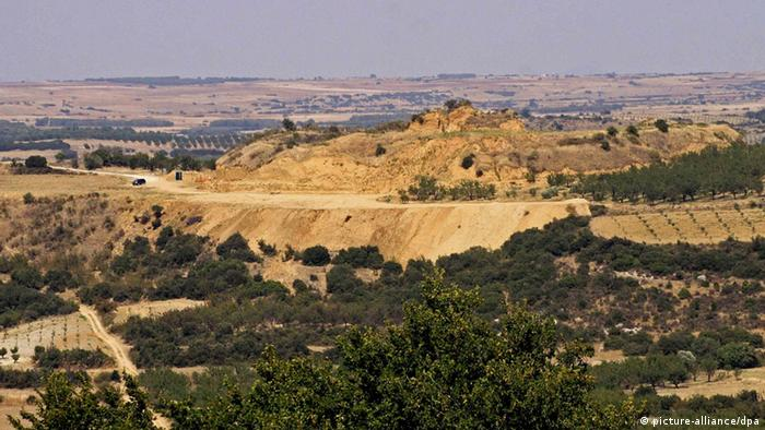 Amphipolis archeological site in Greece, Copyright: picture-alliance/dpa