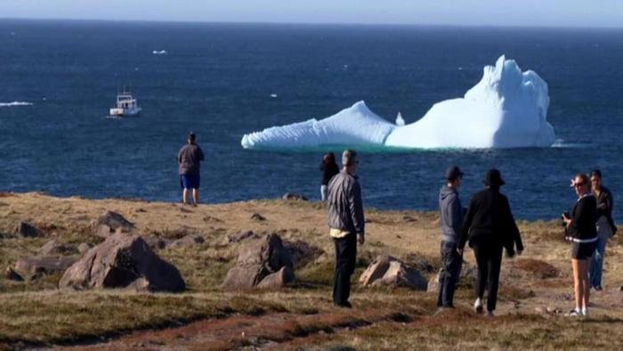 12.08.2014 DW GLOBAL 3000 Eisberg