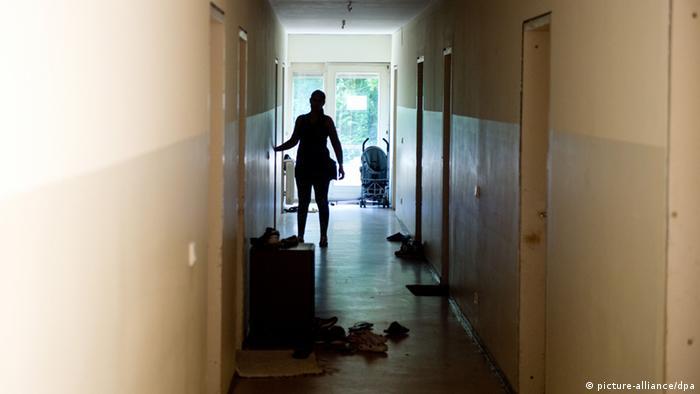 Symbolbild Notstand deutscher Städte bei Fl�chtlingsunterk�nften